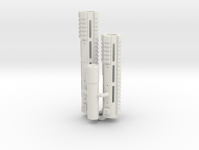 1:6 Smooth ISR ISC SF version V2 in White Natural Versatile Plastic