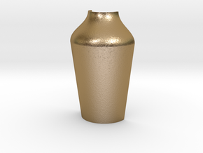 Pint Mold Form Half in Polished Gold Steel