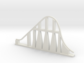 Millennium Force Roller Coaster in White Natural Versatile Plastic