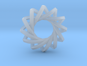 4 Concentric Impossible Triangles in Smooth Fine Detail Plastic
