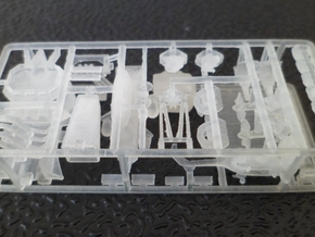 1/600 Scale Leander Ikara Conversion Kit in Smooth Fine Detail Plastic
