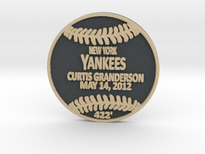 Curtis Granderson in Full Color Sandstone