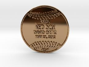 David Ortiz2 in Polished Brass