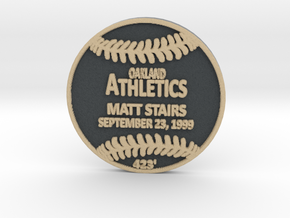 Matt Stairs in Full Color Sandstone