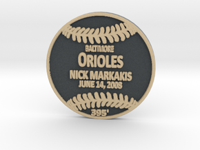 Nick Markakis in Full Color Sandstone