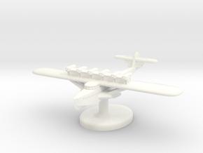 Dornier Do-X German Seaplane (Germany) Qty. 1 in White Processed Versatile Plastic