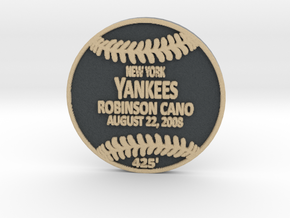 Robinson Cano in Full Color Sandstone
