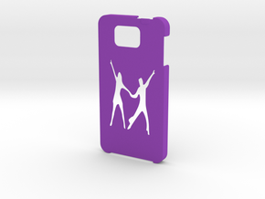 Samsung Galaxy Alpha Dance case in Purple Strong & Flexible Polished
