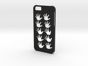 Iphone 6 Hands case in Black Natural Versatile Plastic