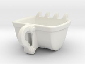 Bulldozer cup Espresso size : 60ml in White Natural Versatile Plastic