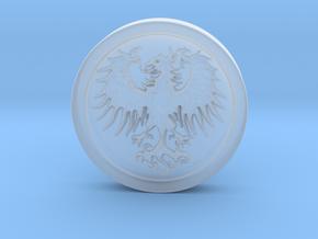Resident Evil 2: Eagle medal in Smooth Fine Detail Plastic