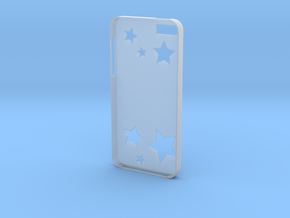 Stars iPhone Case in Smooth Fine Detail Plastic