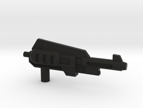Snarl Gun 60 mm in Black Natural Versatile Plastic