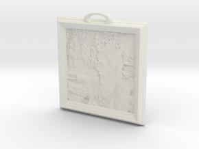 GavinPane in White Natural Versatile Plastic
