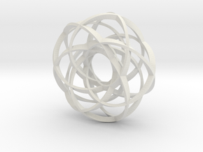 Torus of strips in White Natural Versatile Plastic