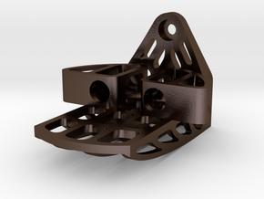 Echo Bracket in Polished Bronze Steel