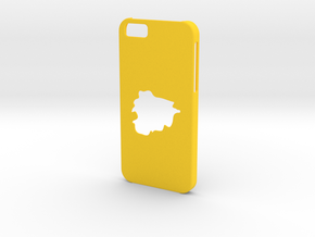 Iphone 6 Case Andorra in Yellow Processed Versatile Plastic