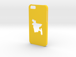 Iphone 6 Bangladesh Case in Yellow Processed Versatile Plastic