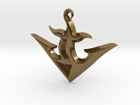 ANCHOR 2 in Polished Bronze
