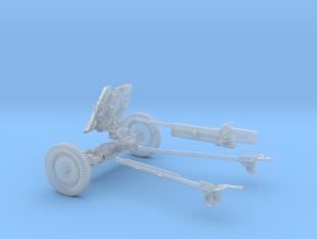 GA004-24 Pak 36 anti-tank gun 37mm  L/45 1:24 in Smooth Fine Detail Plastic