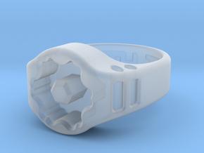US8 Ring XIX: Tritium in Smooth Fine Detail Plastic