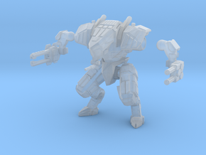 28mm scale mech - Guardian in Smooth Fine Detail Plastic