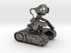 Echobot in Polished Nickel Steel