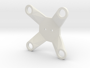 Zenmuse H3-2D Lower Plate in White Natural Versatile Plastic