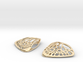 Butterfly Earrings (S)  in 14K Yellow Gold