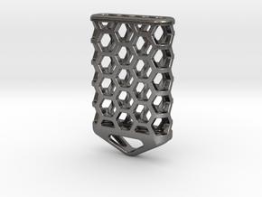 Hex Lantern X5: Tritium (All Materials) in Polished Nickel Steel
