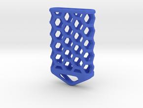 Hex Lantern X5: Tritium (All Materials) in Blue Processed Versatile Plastic