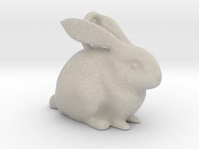 Bunny Pendant  in Natural Sandstone