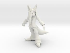 Prototype Kevin Na figure in White Natural Versatile Plastic