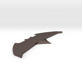 Batman v Superman: DoJ - Batarang Type 2 in Polished Bronzed Silver Steel