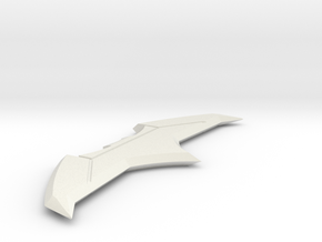 Batman v Superman: DoJ - Batarang Type 1 in White Strong & Flexible
