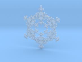Fractal Snowflake 1 - LP in Smooth Fine Detail Plastic