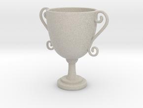 Mini trophy in Natural Sandstone