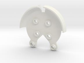 Strong Arm for DJI Phantom 2 & 3 in White Natural Versatile Plastic