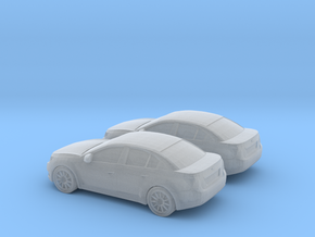1/148 2X 2010-13 Chevrolet Cruze Sedan in Smooth Fine Detail Plastic