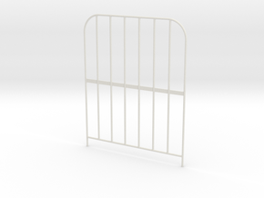 Side-gates-140mm in White Natural Versatile Plastic