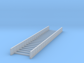 Plate Girder Bridge - 80 foot - Zscale in Smooth Fine Detail Plastic