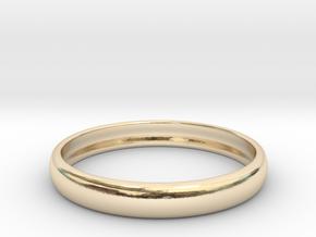 PA RingEasyCT12t08H3d185 in 14K Yellow Gold