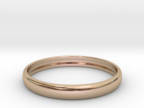 PA RingEasyCT12t08H3d22 in 14k Rose Gold Plated