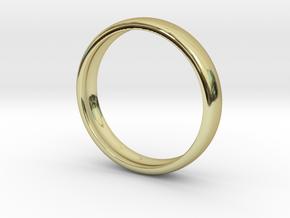 PA RingEasyCT12t08H3d15 in 18k Gold