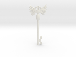 Resident Evil Rev2: Emblem Key in White Natural Versatile Plastic