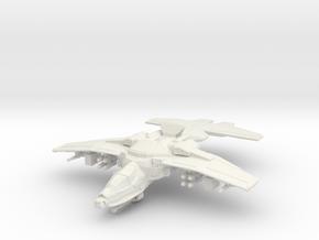 Erinyes Gunship, 6mm in White Natural Versatile Plastic