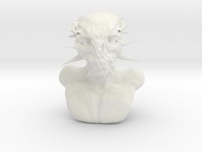 Alien Indian in White Natural Versatile Plastic