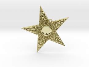 Deco Star in 18K Gold Plated