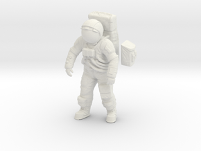 1: 24 Apollo Astronaut a7lb Type / Standing Pos. in White Natural Versatile Plastic