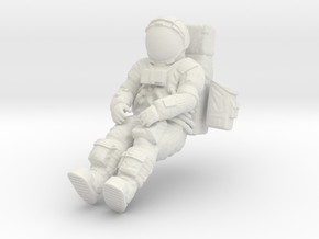 1: 24 Apollo Astronaut a7lb Type / LGV right in White Strong & Flexible